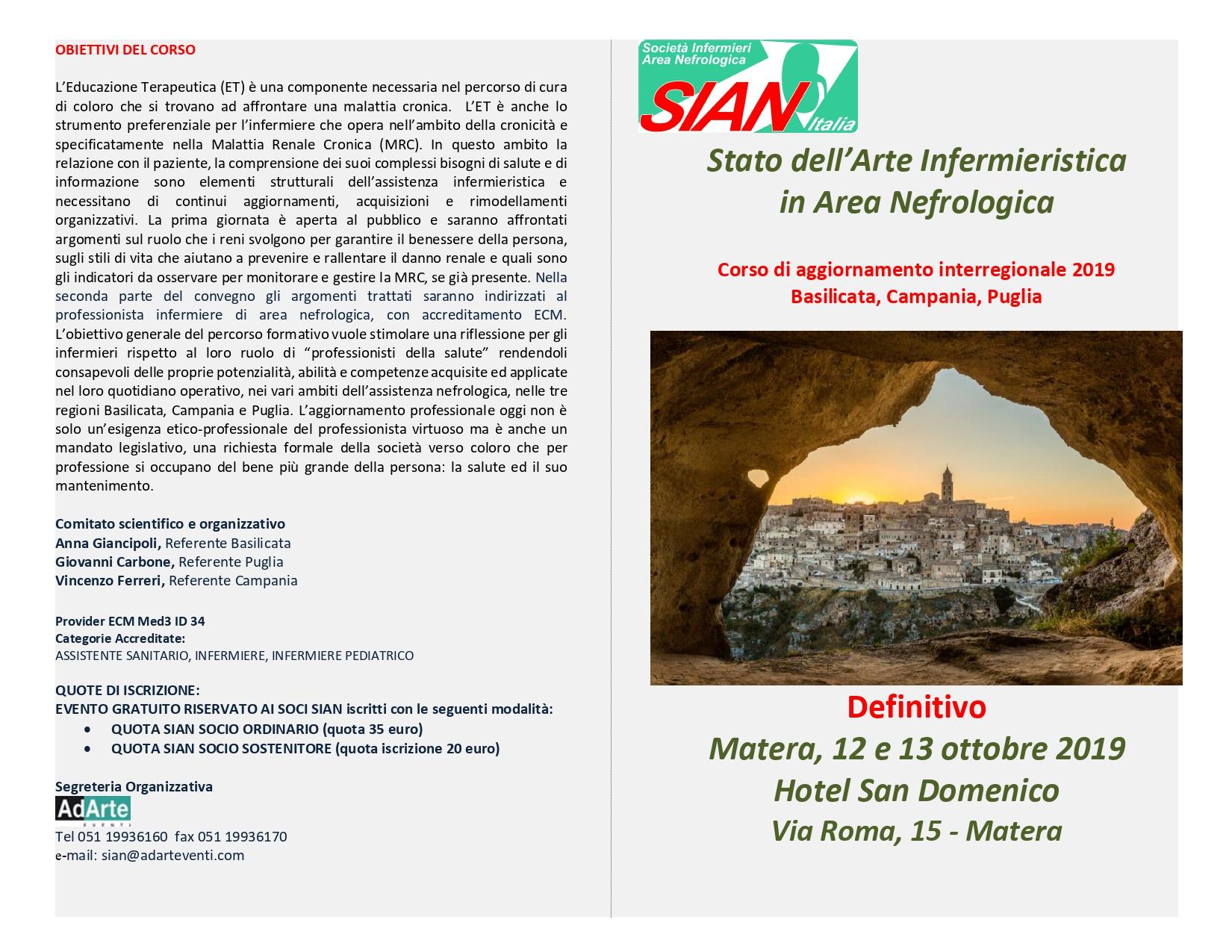 Stato Dell Arte Infermieristica In Area Nefrologica